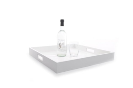 XLBOOM | ZEN TRAY | LARGE | WHITE
