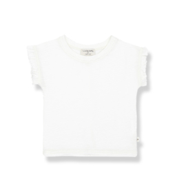 1+ IN THE FAMILY | MIREIA SHORT SLEEVE T-SHIRT | OFF WHITE