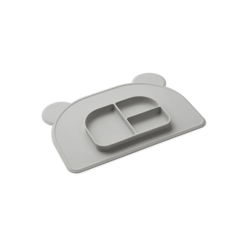 LIEWOOD   OLIVER PLACEMAT   DUMBO GREY