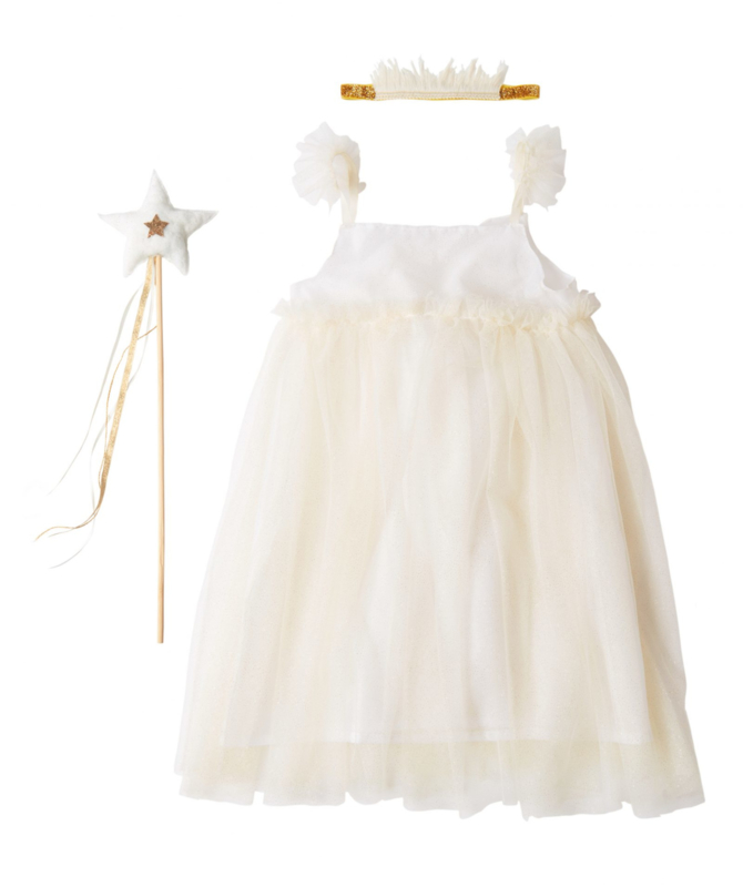 MERI MERI | FAIRY WHITE TULLE DRESS | 5/6 JAAR