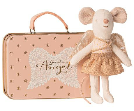 MAILEG | LITTLE SISTER | GUARDIAN ANGEL | IN SUITCASE