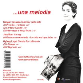 CD Ricercare una melodia