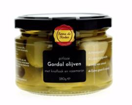 Pitloze olijven - Knoflook en rozemarijn