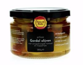 Pitloze olijven - Zontomaat en Kappertjes