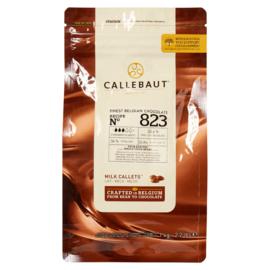 Melk chocolade druppels Callebaut