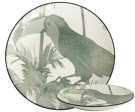Bord Bird ø16,5cm TT Evergreen