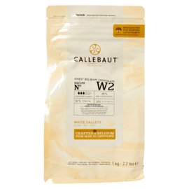 Witte chocolade druppels-callebaut
