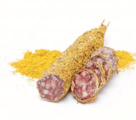 Franse worst met kerrie kruiden