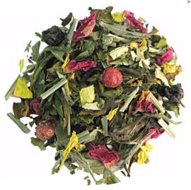 Kir Royal - groene en witte thee