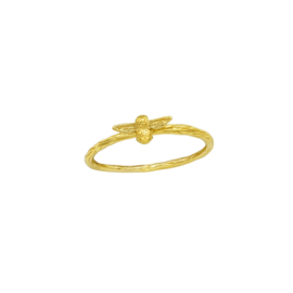 Ring Bee Gold