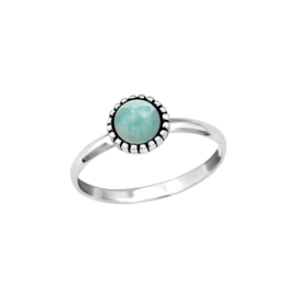 Ring  Dahlia Turquoise