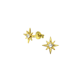 Earrings North Star Gold