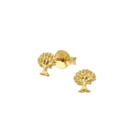 Earrings Tree Of Life Gold