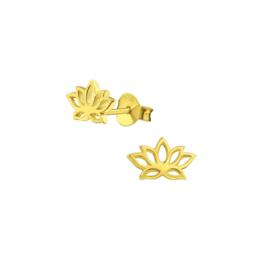 Earrings Lotus Gold