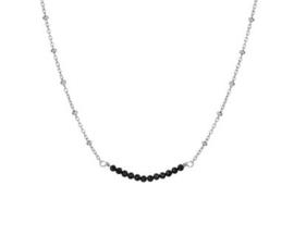 Necklace Strass Black