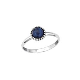 Ring Dahlia Blue