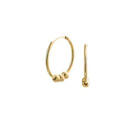 Earrings Dancing Rocks Gold