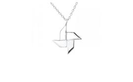 Necklace Origami Ninja Star