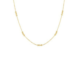 Necklace Three Dots Gold