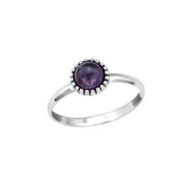 Ring Dahlia Purple