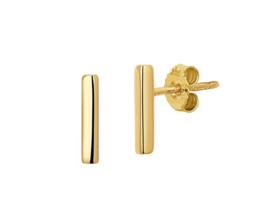 Earrings Rods Gold
