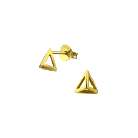 Earrings Pyramid Gold