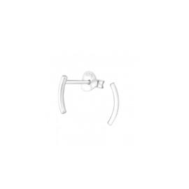 Earrings Curved Bar