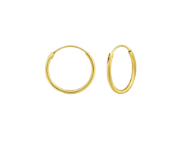 Earrings Creoles Gold 16mm