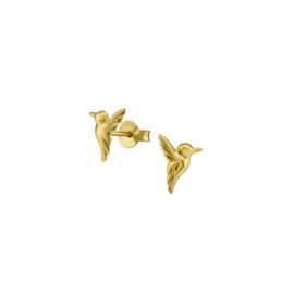 Earrings Birds Gold