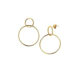 Earrings Hoops Gold