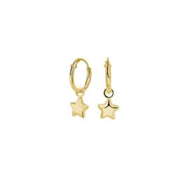 Earrings Super Star Gold