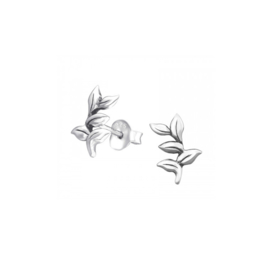 Earrings Branches Silver