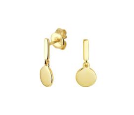 Earrings Happy Gold
