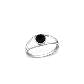 Ring Rock Rose Black