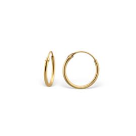 Earrings Creoles Gold 14mm