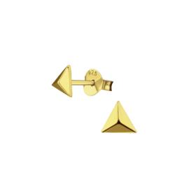 Earrings Triangle Gold