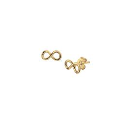 Earrings Infinity Gold
