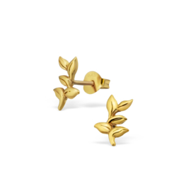 Earrings Branches Gold