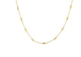 Necklace Tiny Rods  Gold