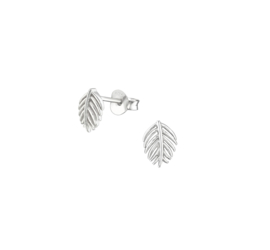 Earrings Leaves Autumn