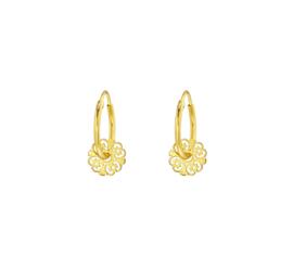 Earrings Vintage Gold