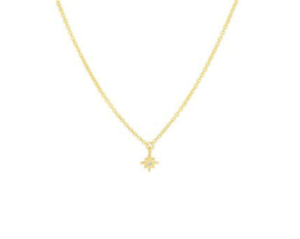 Necklace Love The Stars Gold