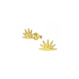 Earrings Golden Sun