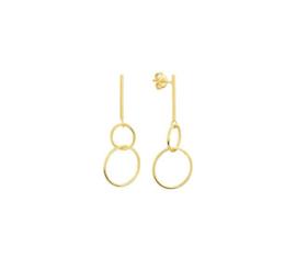 Earrings Hoopla Gold