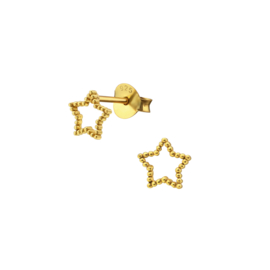 Earrings Shining Star Gold
