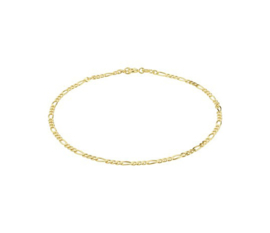 Anklet Figaro Gold
