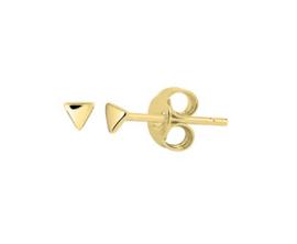 Earrings Mini Triangle Gold