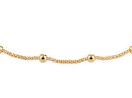 Anklet Beautiful Dots Gold