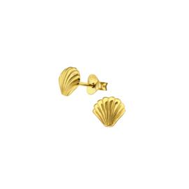 Earrings Sea Shell Gold