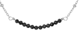Necklace Strass Black